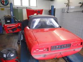 Autoservice Auto Alfa Spider Werkstatt Muenchen