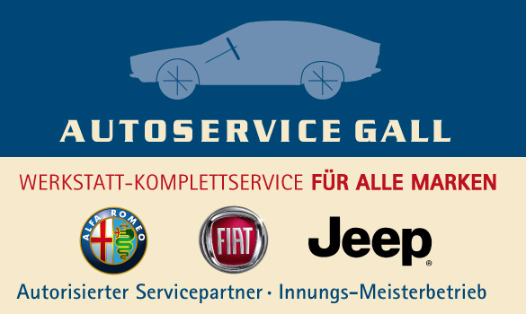 Autoservice Gall Logo Mobilversion