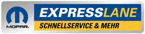 Autoservice Mopar Express Lane Logo Muenchen