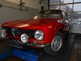 Autoservice Oldtimer Alfa GT Junior Werkstatt Muenchen