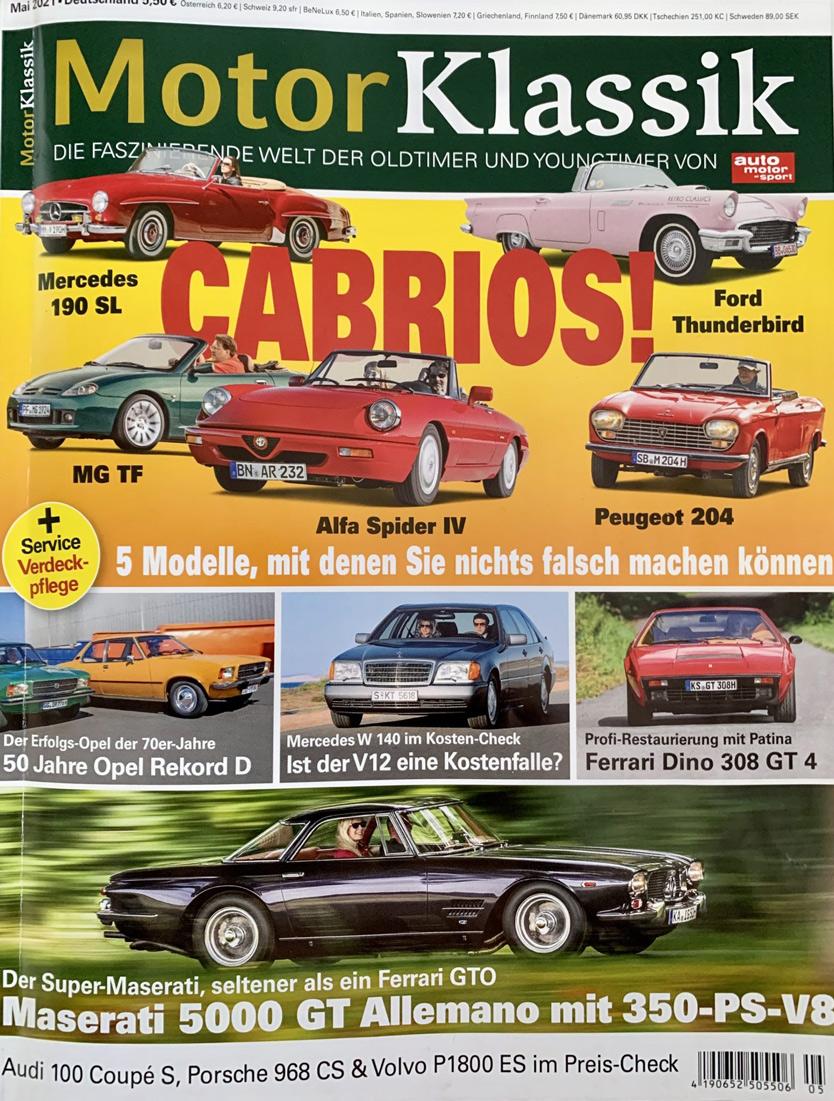 Motor klassik cover